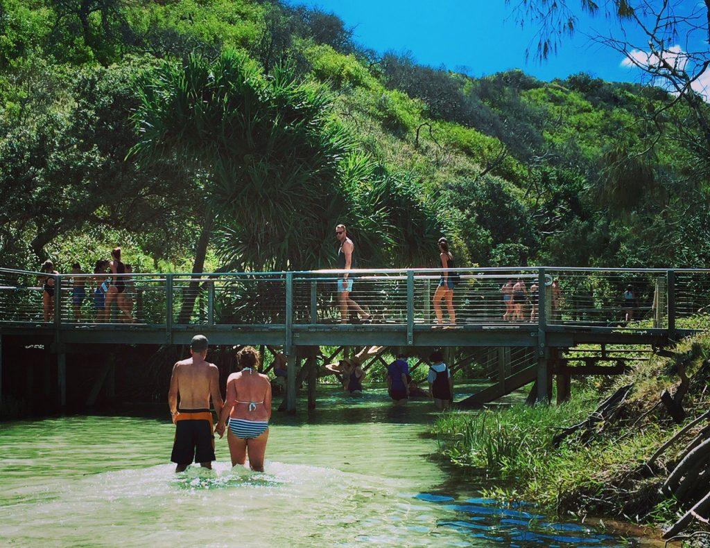 Australien Fraser Island Eli Creek