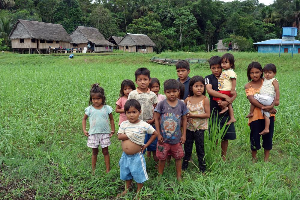 Amazonas Dorf
