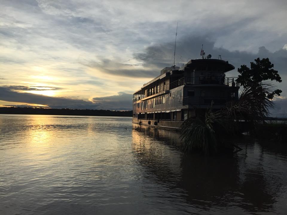 La Perla auf dem Amazonas