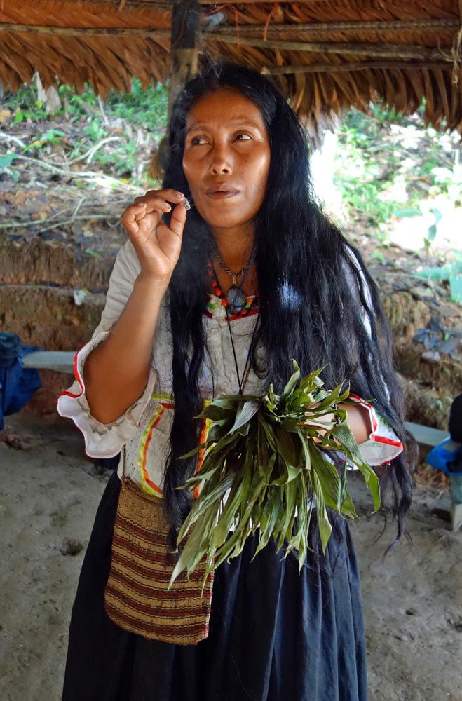 Amazonas Schamanin