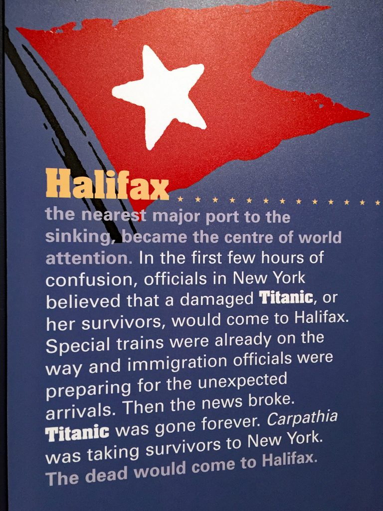 Halifax Titanic