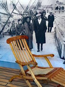 Deckchair Titanic