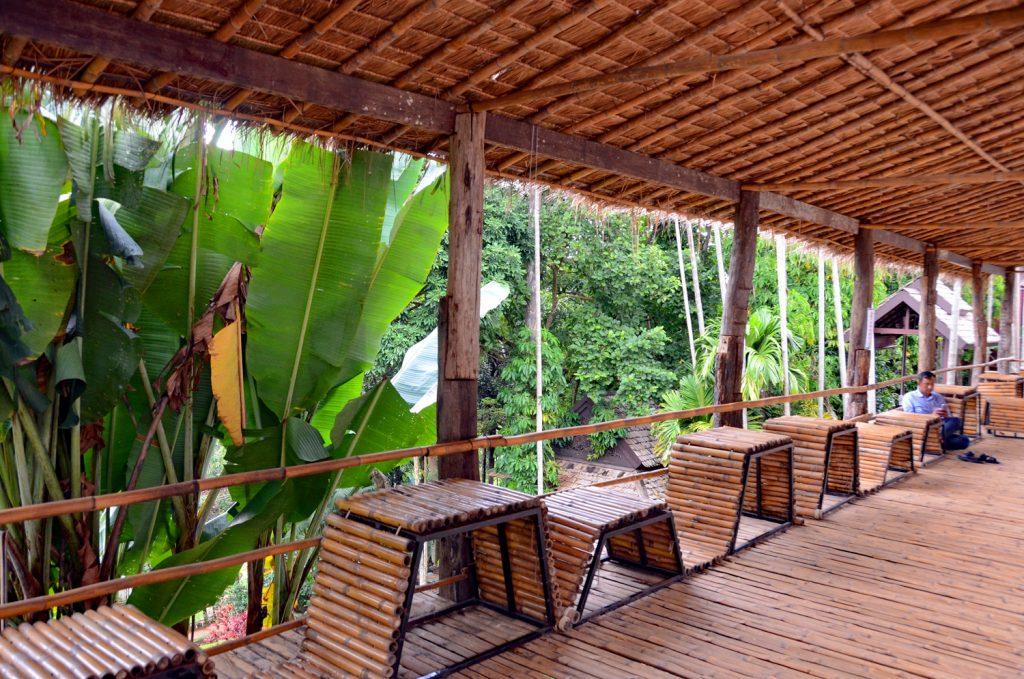Thailand Ausflug Dschungelcafe