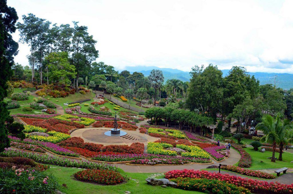 Thailand Ausflug: der Mae Fa Luang Garten