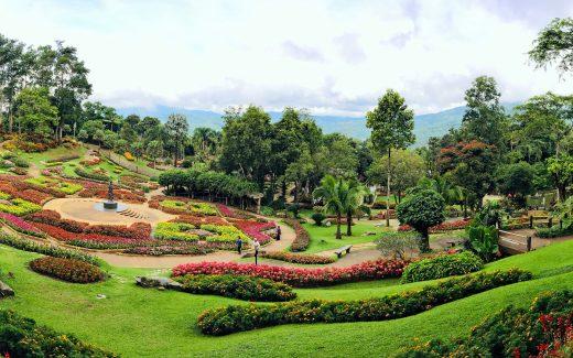 Thailand Ausflug, Garten