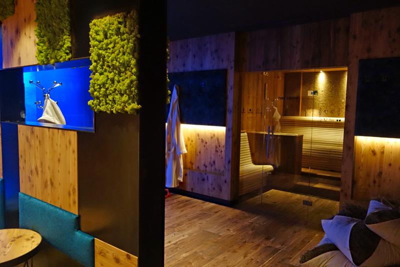 Hotel Wolkenstein Comploj Sauna