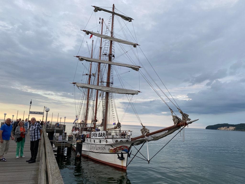 Segelschiff Binz